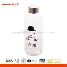 Kundenspezifische BPA-freie Fahrrad-Wasser-Flasche mit Metalldeckel