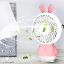 Outdoor Handheld Fan Oplaadbare Nachtlamp Ventilator