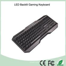Impressão a laser 104 Keys Standard PC Game Keyboard (KB-1801EL)