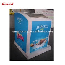 Mini congelador barato del congelador de China del congelador de la exhibición del mini hielo 138L mini