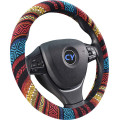 Universal colorfuel flax auto steering wheel cover