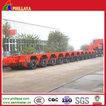 Transport Large Machine Modular Heavy Load Trailer