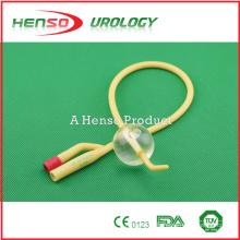 two way (2 way) Tiemann Latex Foley Catheter