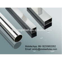 Stainless Galvanized Steel Tube 201/304/316 with hollow section and rectangular hollow section
