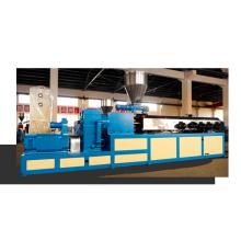 Granulador de material de cabo de dois parafusos cônicos co-rotativos