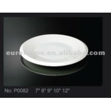 Ceramic small dish &saucer plate for the hotel ,restaurant and daily use P0082
