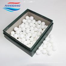 china manufacture High Quality 99 Alumina inert ceramic ball and Heat-resistant Ceramic Refractory balls