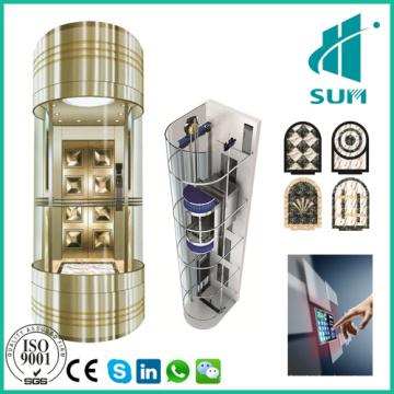 Sightseeing Aufzug mit guter Qualität Beobachtung Aufzug