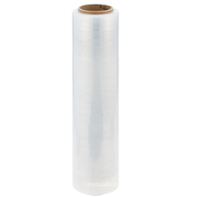 Free samples Transparent Film Customized Pallet Stretch Plastic Wrapping Film Hand Use Plastic Wrapping Stretch Film