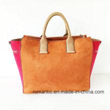Neue Mode-Produkt Lady Fake Wildleder Handtaschen (NMDK-051901)