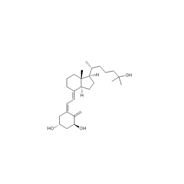 1α, 25-Dihydroxy Vitamina D3 Calcitriol Cas 32222-06-3