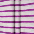 Tissu côtelé 1 * 1 en coton polyester CVC