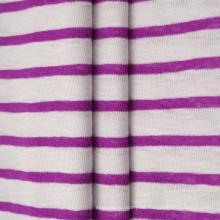 Garngefärbte Baumwolle Polyester CVC Rippe 1 * 1 Stoff