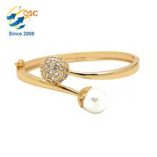 bracelet de bijoux à la mode or perle
