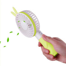 Battery Rechargeable Portable USB Rabbit Mini Handheld Fan