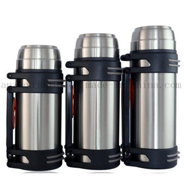 OEM Big Size 2.5L Stainless Steel Thermos Vacuum Flask Bottle