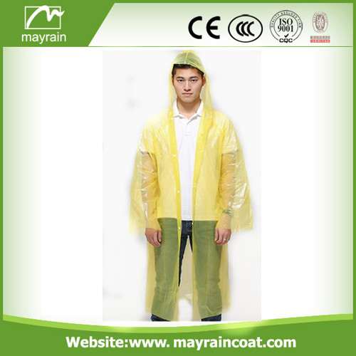 Emergency PE Raincoat for Women and Men