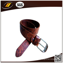 Novo cinto de couro de bezerro personalizado para mulheres cinto de couro puro