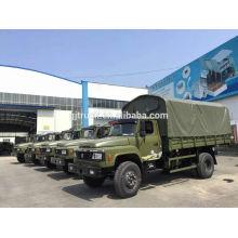 Dongfeng 4X2 camion militaire pour le transport de troupes
