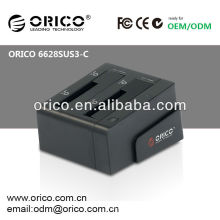 ORICO 6628SUS3-C 2.5 '' e 3.5 '' USB3.0 clone HDD docking