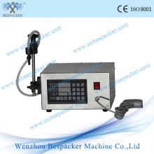 Máquina de enchimento líquida semi-automática da embalagem da venda quente