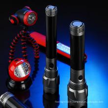 Lumifire High Power 100% / 30% / Flash 3 Modes Fluorescent Ring Torche en aluminium