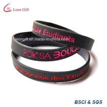 Дешевые силиконовый браслет для промо-подарок