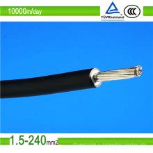 2.5mm2 DC солнечного кабель TUV около 100 000 м/день