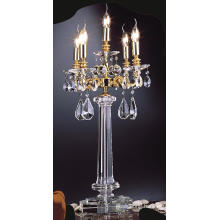 Top Quality Modern Design Decorative Candle Crystal Table Lamp (67004)