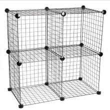 4 supports d'affichage de cube, taille de cube 35.5 * 35.5 * 35.5cm (FH-W0016)