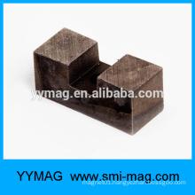 Small horseshoe alnico magnet