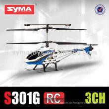 SYMA S301G 3.5-Kanal-Legierungsrahmen in Midsize mit unterschiedlicher Farbkopfabdeckung - RC Hubschrauber