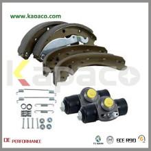 Kapaco rear car brake shoes 1684200320 for Mercedes-Benz