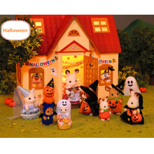 Jugar a House Toys for Kids Play Muebles de casa Toy Set in Home Toy