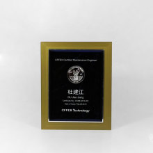 Best seller acrylic engraved plaques awards and trophies