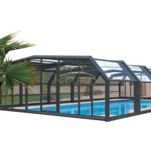 Custom Modern Design Sliding Outside Aluminum Roof