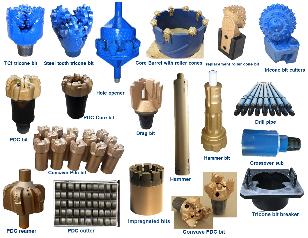 factory tricone bit produce