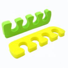 Amazon Best Selling High Quality Smile Face Shaped Soft Foam Toe separator EVA Separator