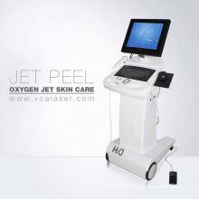 Cáscara de chorro de oxígeno multifunción con LED de PDT máquina