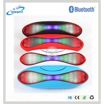 Orador sem fio de Bluetooth da luz do diodo emissor de luz do esporte exterior