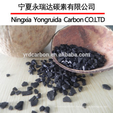 12x40 mesh coconut shell granular activated carbon for water treatment/purification