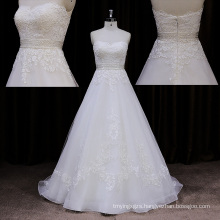 Factory Outlet Bodycon Sweep Train Wedding Dress 2014 Lace