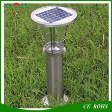 Открытый прочный алюминиевый водонепроницаемый 2W водонепроницаемый солнечный свет лужайки сада IP65 Lanscape солнечная лампа для двора Вилла