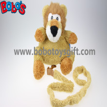 "11.8""Lovely Yellow Plush Lion Children Backpack Children Not Lost Bags Bos-1238/30cm"