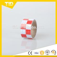 Fita reflexiva verificada autoadesiva no material do PVC