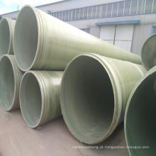 Tratamento de superfície do ISO e água do mar, água da água de esgoto, tubulação da aplicação FRP / GRP da água potável