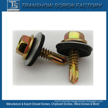 EPDM Bonded Washer Hex Washer Head Roofing Screw