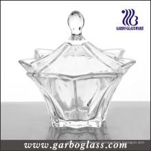 Clear Glass Candy Jar (GB1832BJX)