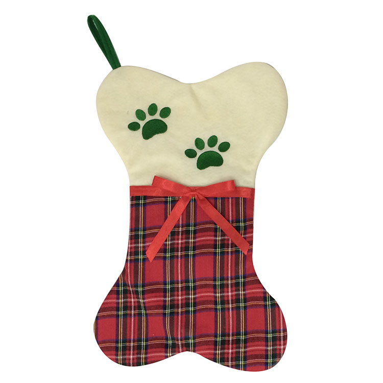 Scottish Style Christmas Pet Stocking