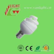 T2 compact spirale pleine 3W CFL, lumière d'économie d'énergie